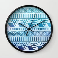 Tribal Vision. Wall Clock