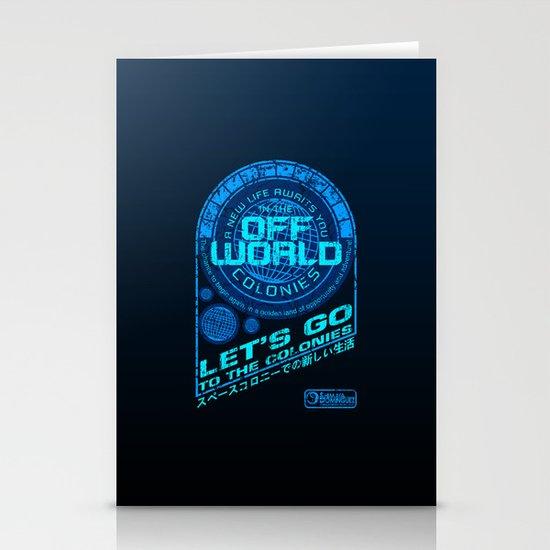 Off World Stationery Card