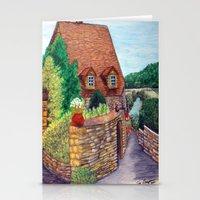 English Village Stationery Cards