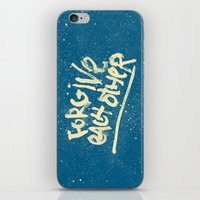 Take Care of Each Other, Part 5 iPhone & iPod Skin
