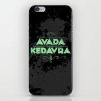 Harry Potter Curses: Ava… iPhone & iPod Skin