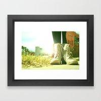John Had It Right The Wh… Framed Art Print