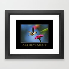 Inspirational Achievement Framed Art Print