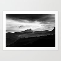 Hephaestos Valley Art Print