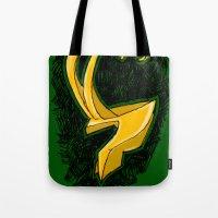 Loki's Helmet (Thor / the Avengers) Tote Bag