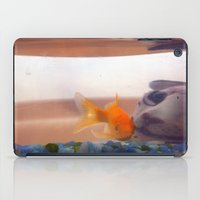 Fish in trouble iPad Case