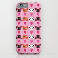 iPhone & iPod Case featuring Iloveyoumorethankittens by Ilovebubbah