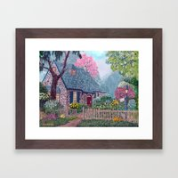Essex House Cottage By A… Framed Art Print