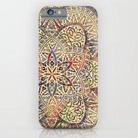 Gold Morocco Lace Mandala iPhone 6 Slim Case