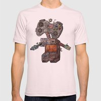 Gamebot Mens Fitted Tee Light Pink SMALL