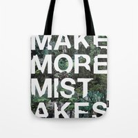 Mistakes Tote Bag