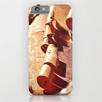 iPhone Cases featuring Peeling Bark by Catherine Donato
