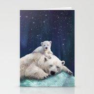 Polar Bears Stationery Cards
