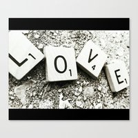 In Love Canvas Print