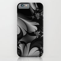 Black and White Fractal 10 iPhone 6 Slim Case