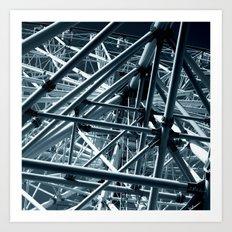 ferris wheel 03 Art Print