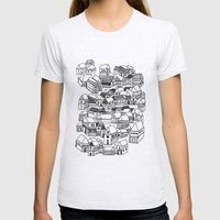 Home Womens Fitted Tee Ash Grey SMALL