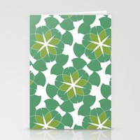 Spring Floral Pattern 1 Stationery Cards
