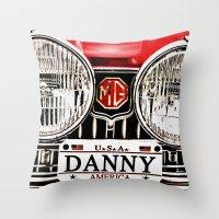 MG Danny Throw Pillow
