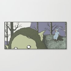 Trollfather Canvas Print