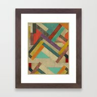 Framed Art Print featuring Refactory  by Bri.buckley