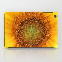If the sun was a flower! iPad Case