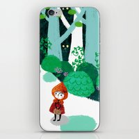Red Riding Hood And The … iPhone & iPod Skin