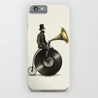 bike iPhone & iPod Cases featuring Music Man by Eric Fan