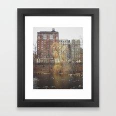 Central Park North Framed Art Print