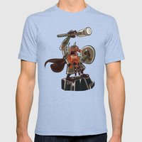 Bolt Thundersmite- Versi… Mens Fitted Tee Tri-Blue SMALL