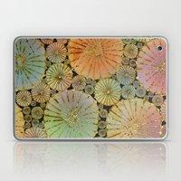 Abstract Floral Circles 2 Laptop & iPad Skin