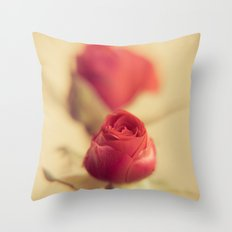 A red rose for your sweetheart ... Throw Pillow