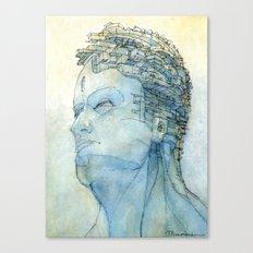 Ritratto Di Fantasia Col… Canvas Print