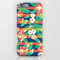 iPhone Cases featuring Tropical by Steven Toang