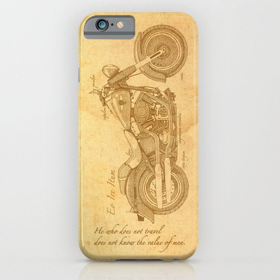 Travel Plan iPhone & iPod Case