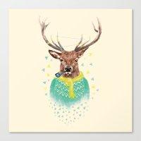 Wonder Deer Canvas Print