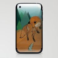 The Lazy Fox Jumps Over … iPhone & iPod Skin