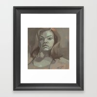 Carter Framed Art Print