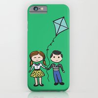 iPhone & iPod Case featuring Fly a Kite by LaPetiteJo