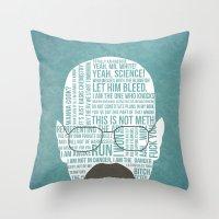 Walter White Said Throw Pillow