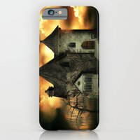 iPhone Cases featuring Stranded Manor by Texnotropio