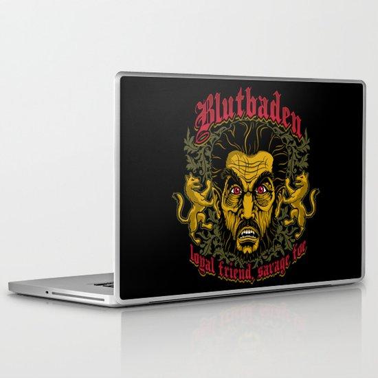 Blutbaden Laptop & iPad Skin