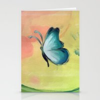 The Journey Of A Butterf… Stationery Cards