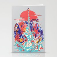 Smash! Zap!! Zooom!! - Generic Spacecraft Stationery Cards