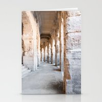 Roman Amphitheatre Arches in Arles. Stationery Cards