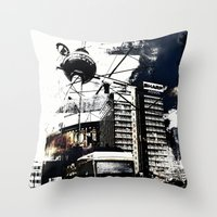 Berlin Art Throw Pillow