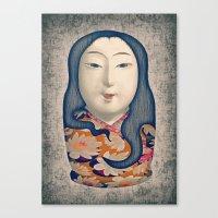 Matrioska japonesa Canvas Print