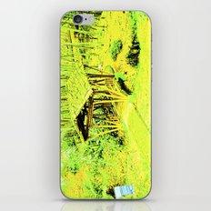 Green living eye. iPhone & iPod Skin
