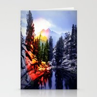 Colorado Flag/Landscape Stationery Cards