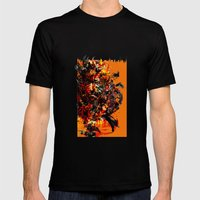 Metal Gear Mens Fitted Tee Black SMALL
